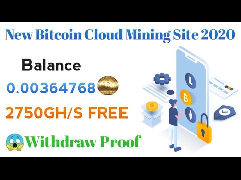 New Free Bitcoin Mining Sites Without investment 2020   Earn 0.003 BTC FREE Daily ! Withdraw Proof