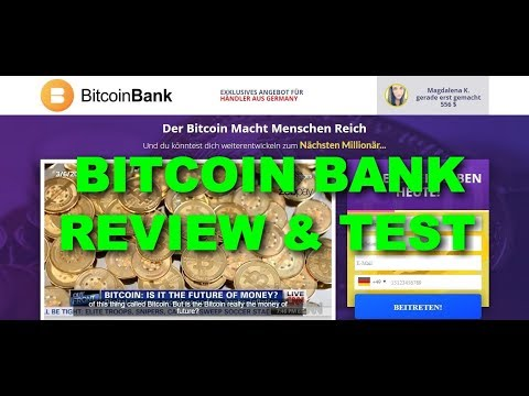 Bitcoin Bank Review, Is Bitcoin Bank Scam or Legit Trading App? Test Results!