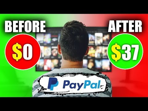 Make Money Online By Watching Videos (Top 5!) Free Paypal Money