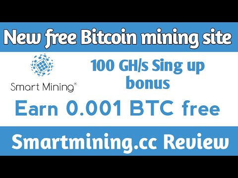 New Free cloud Bitcoin mining site 2020    smartmining.cc review in hindi Urdu 2020    Now launch!