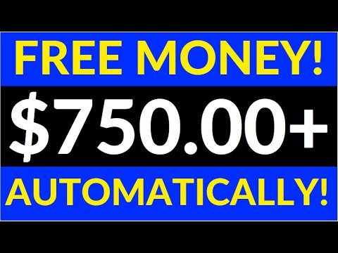 Get Paid $750 Daily AUTOMATICALLY! (FREE) - Worldwide! (Make Money Online)