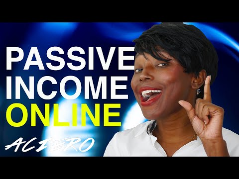 HOW TO MAKE MONEY ONLINE IN 5 SIMPLES WAYS AS PASSIVE INCOME