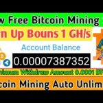 Mining-town Scam Or Legit||New Free Bitcoin Mining Site 2020||Bitcoin Ganarent 2020||Bouns 1 GH/s.