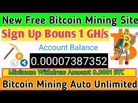 Mining-town Scam Or Legit  New Free Bitcoin Mining Site 2020  Bitcoin Ganarent 2020  Bouns 1 GH/s.