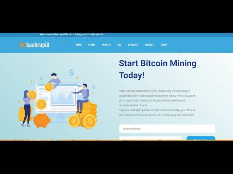 Hashrapid Bitcoin site scam or Legit 100% Proof