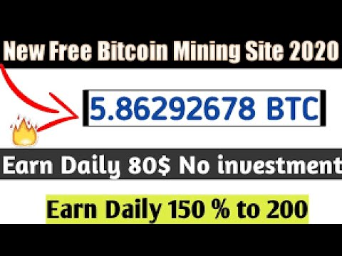 New Free Bitcoin Mining Site -Zero InvestMent in 2020