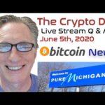 CryptoDad's Live Q. & A. June 5th, 2020 Bitcoin News!