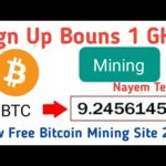 Bitpanda Scam Or legit  New Free Bitcoin Mining Site 2020  Bitcoin Ganarent 2020  Bouns 1 GH/s.