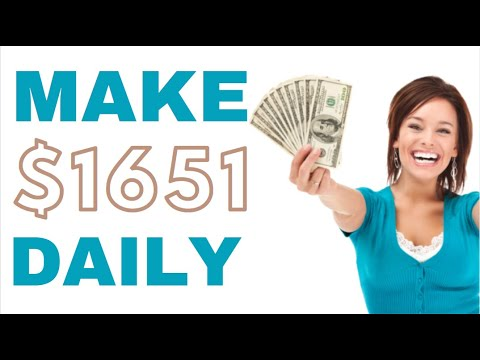 Make Money Online & Earn $1651 for FREE! - Work From Home! (2020)