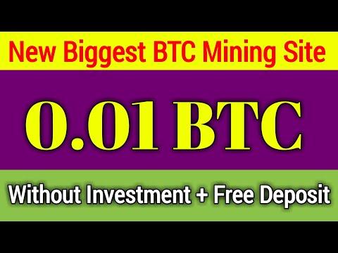 New Bitcoin Mining Website Website 2020   BTC Mining 2020   Free BTC Earning App