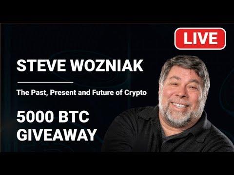 Steve Wozniak : About Bitcoin&Business | Crypto Invest Summit