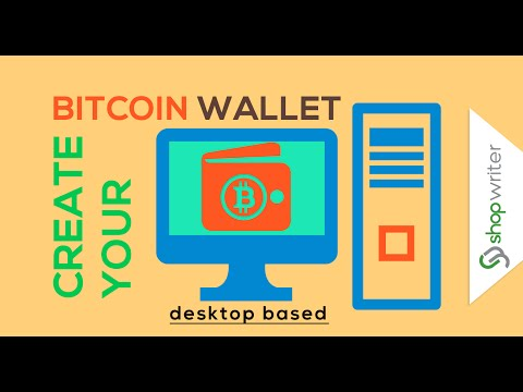 How to create bitcoin wallet in 4 minutes – Desktop Based