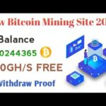 New Legit Bitcoin Mining Sites 2020 | Best Legit Free Or Investment Site 2020 ! Withdraw Proof