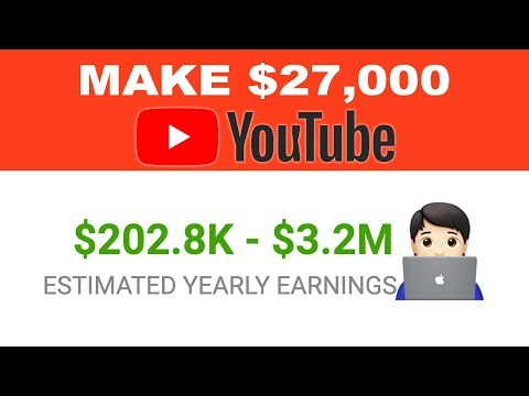 Get Paid $27,000 uploading Simple Videos On Youtube - Make Money Online