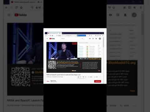 Fake Space x YouTube Channel scams 150 k thousand dollars in bitcoin and hijacks 3 YouTube channels