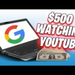 Earn $500 Instantly Watching Youtube Videos [Make Money Online]