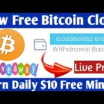 OMG Free Bitcoin Cloud Mining Site 2020 ! Mininglabs Live Peyments proof + Giveaway