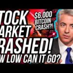 BREAKING: THE STOCK MARKET CRASHED!! BITCOIN PRICE CRASH!! STOCKS & Crypto News