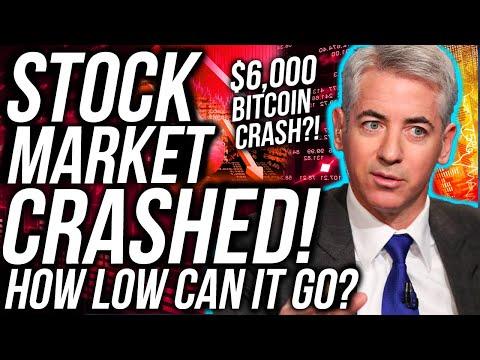 BREAKING: THE STOCK MARKET CRASHED!! BITCOIN PRICE CRASH!! STOCKS & Crypto News