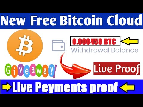 Top 2 Free Bitcoin Cloud Mining Site 2020 ! Wesite Long Time Project + Peyments proof + Giveaway