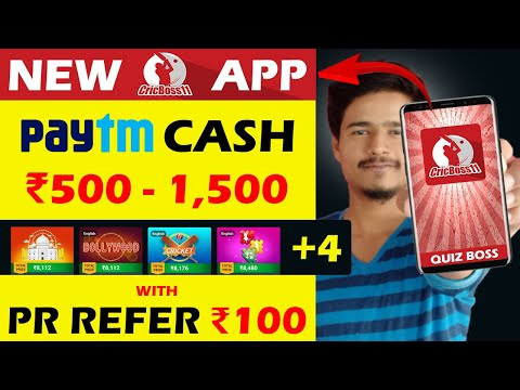 New Paytm Cash Earning App 2020   Play Game And Earn Money Online   Refer And Earn Paytm Cash