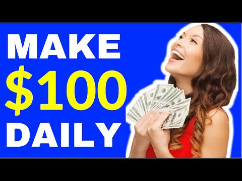 Earn $100 A Day & Make Money Online for Free NO Website and No Skills Needed!