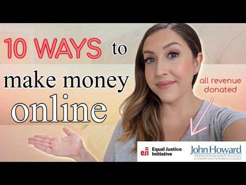 10 WAYS TO MAKE MONEY ONLINE | How I Make Money & My Business Plan