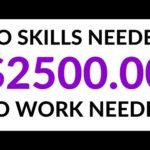 Make $2500 Per Day on AUTOPILOT! (NO WORK) - Make Money Online