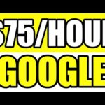 Earn $75 Per Hour With Google [Make Money Online With No Money 2020]
