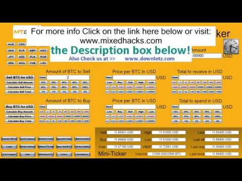 MtGox Bitcoins to BTC e Bitcoins in 50 seconds Hack Tool  Tested