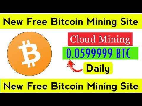New Best Bitcoin  Cloud Mining Site    Bitcoin Mining Without Investment    Bitcoin Mining  Company