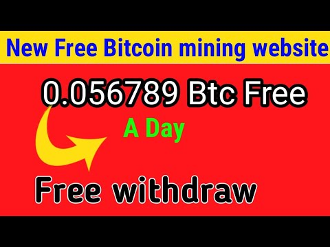LEGIT & FAST | FREE BITCOIN MINING WEBSITE + Mine Daily 0.02250000 Bitcoin Daily !!!! Payment PROOF