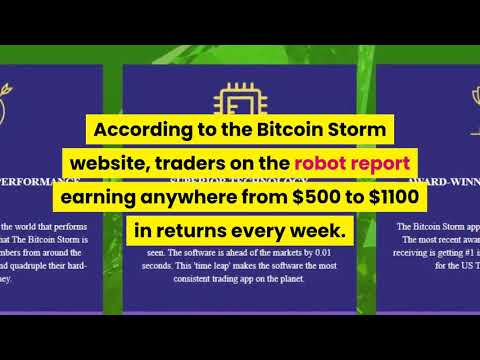 Bitcoin Storm Review, Is Bitcoin Storm a SCAM or Legit? Watch our REVIEW to FIND OUT!