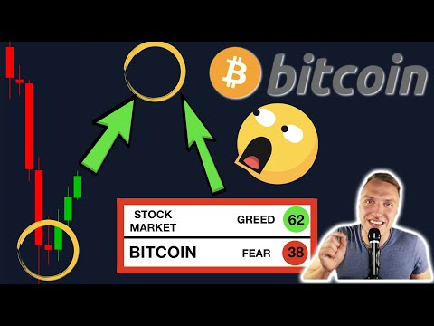 SHOCKING!!! BITCOIN DUMP OVER!!? WELL... LOOK AT THIS BITCOIN & STOCK MARKET FEAR AND GREED INDEX!!!
