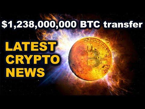 Latest Crypto News - $1.238 Billion BTC transfer!