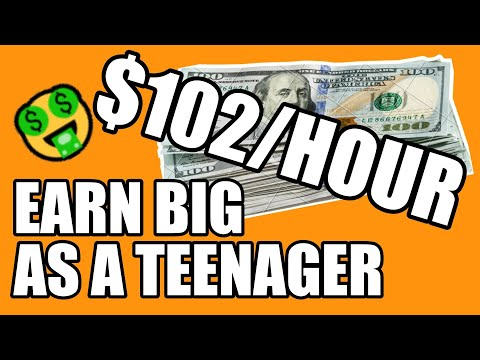 [Earn $102/Hour] Make Money Online As A Teenager