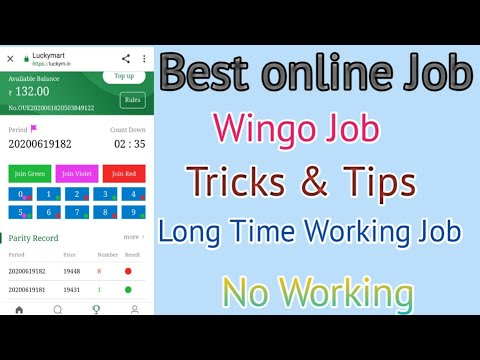 Wingo Job Tricks & Tips long Time Working Job   TamilEarnTricks  