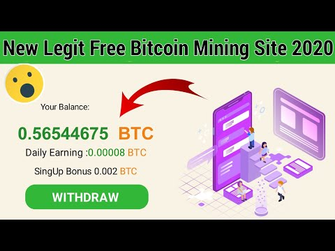 100% Legit free bitcoin mining site 2020 | new free bitcoin earning site 2020 | 100% paying site
