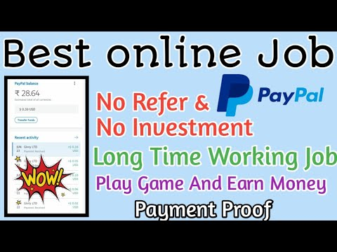 Best online Job No Refer & No investment Play game and earn money ||Tamilearntricks||