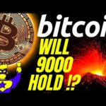 CAUTION: WILL 9K HOLD???!! BITCOIN LITECOIN ETHEREUM Crypto price prediction,analysis, news, trading