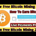 OMG New Free Bitcoin Cloud Mining Site 2020 ! Earn Free Bitcoin + Live Peyments Proof