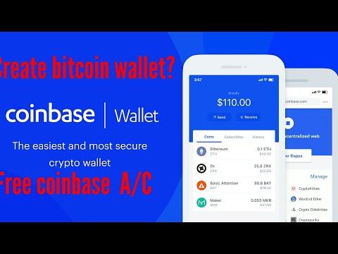 How to create bitcoin wallet   coinebase wallets