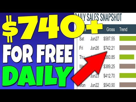 Make $700+ DAILY (FREE) Working 10 MINUTES as a BEGINNER (Make Money Online)