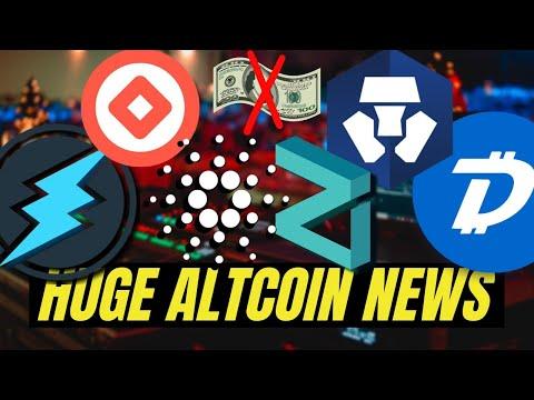 MASSIVE CRYPTO NEWS! Digibyte, Cardano, Crypto.com, Electroneum, Zilliqa, Wabi