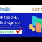 Bitw.io Scam/Legit Site Review.. New Bitcoin Mining Site 2020 #bitw #freebtc