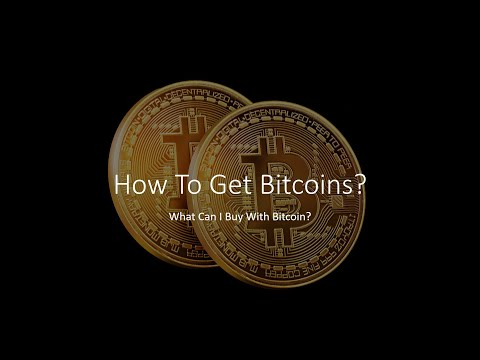How To Get Bitcoins - What Can I Buy With Bitcoin