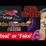 Forsage Real Or Fake | India ban cryptocurrency | Scam alert | In Tamil