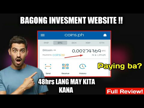 Bagong Investment Website 2020 | Earn Free Bitcoin Profit | Legit or Scam? Full Review!