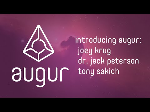 Augur: Introducing Decentralized Prediction Market Team