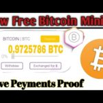 OMG New Free Bitcoin Cloud Mining Site 2020 ! Earn Free Bitcoin + Live Peyments Proof + Giveaway